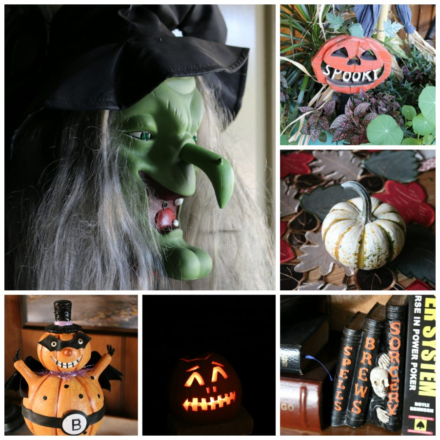 Halloween Decor - It is that time of year, to start decorating for my favorite holiday Halloween. CeceliasGoodStuff.com