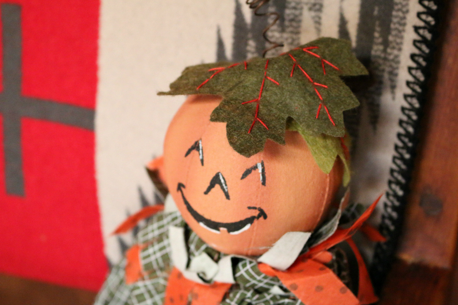 This little guy will bring a smile to your face. Happy little Pumpkin. CeceliasGoodStuff.com