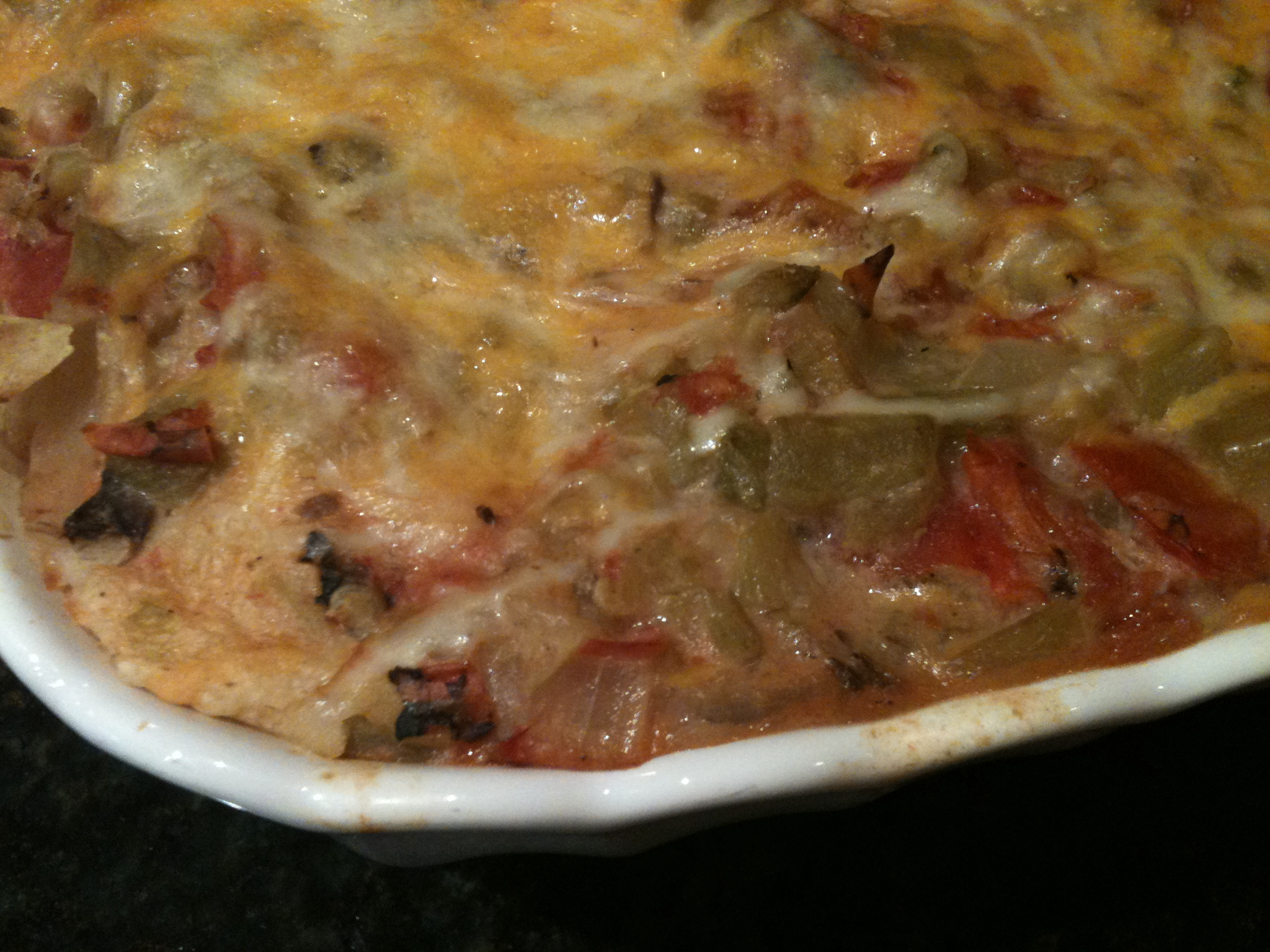 Green Chile Turkey Enchiladas