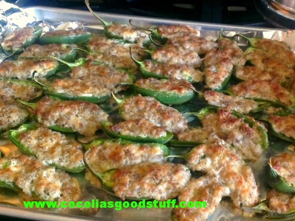 Stuffed Jalapeño Peppers
