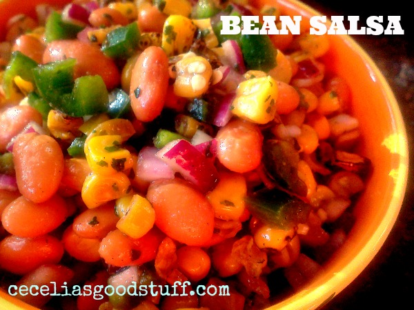Bean & Roasted Corn Salsa