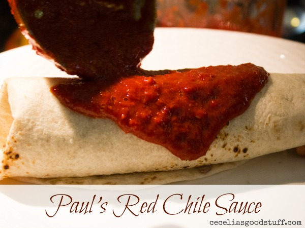 Red Chile Burrito