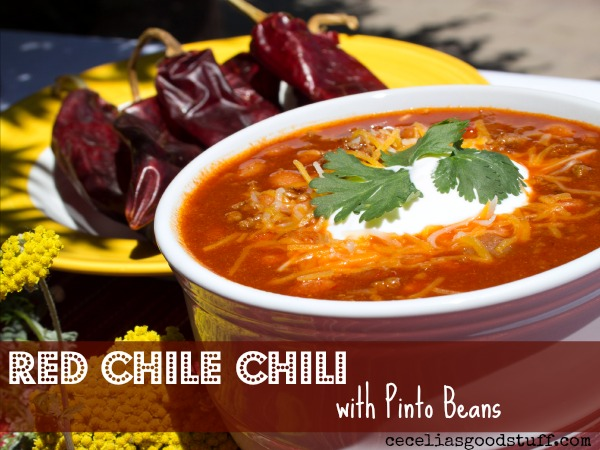 New Mexican Red Chile Chili