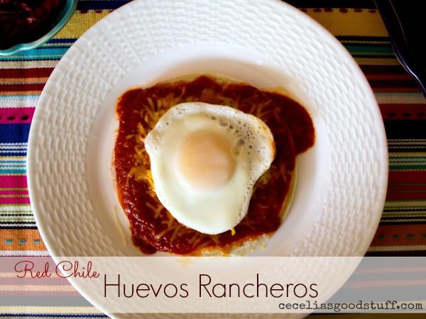 Red Chile Huevos Rancheros