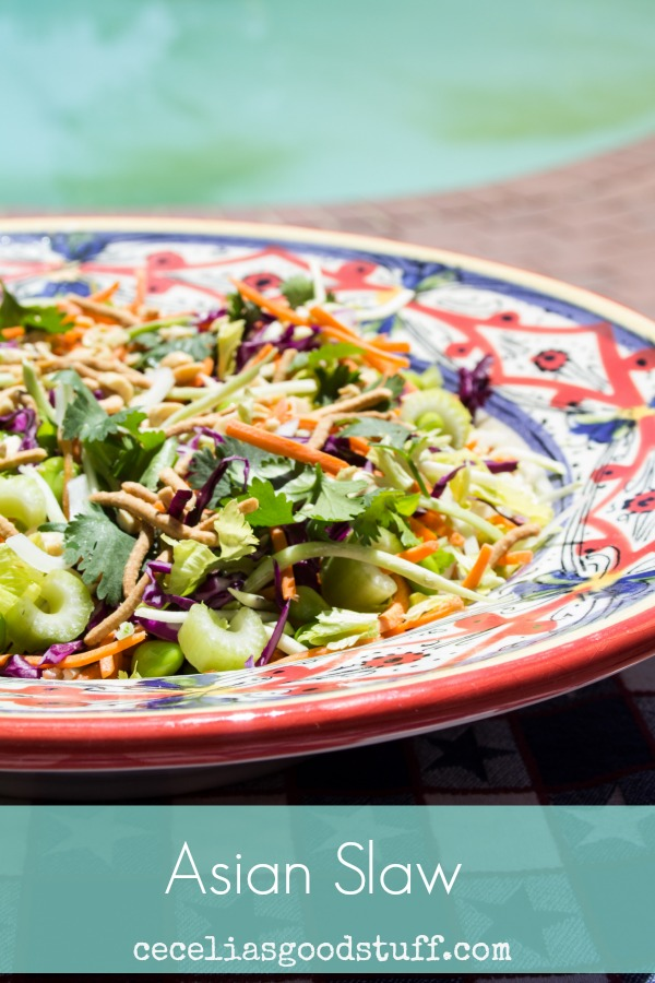 Asian Slaw with Soy Dressing