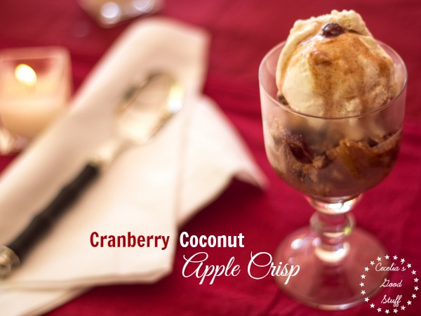 Coconut Cranberry & Apple CrispImage