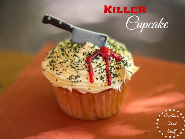 Halloween Killer Cupcake