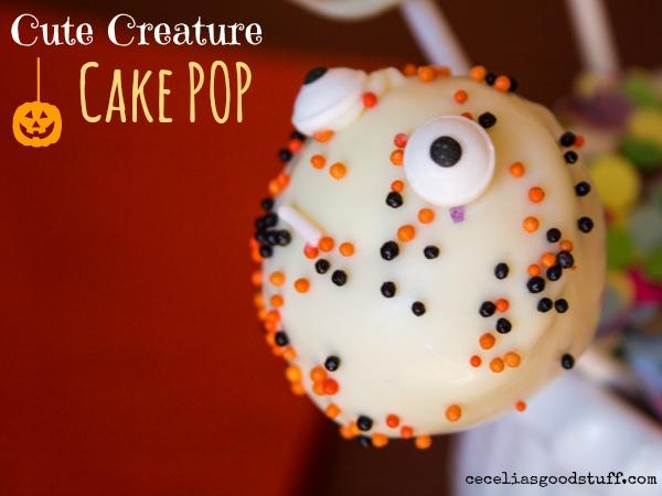 Halloween Treats - Cake Pops