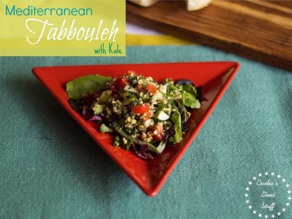 Mediterranean Tabbouleh with Kale