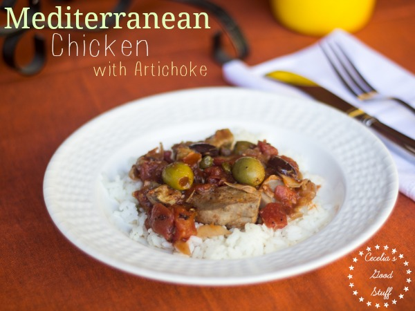 Mediterreanean Chicken with Artichokes