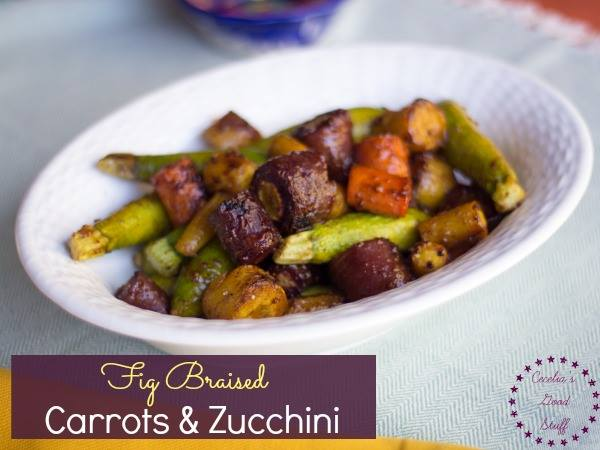 Fig Braised Carrots & Zucchini