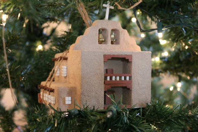 A collection of churches perfectly placed throughout the tree.