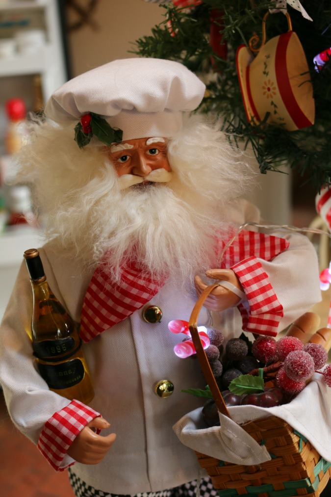 Kitchen Santa Claus
