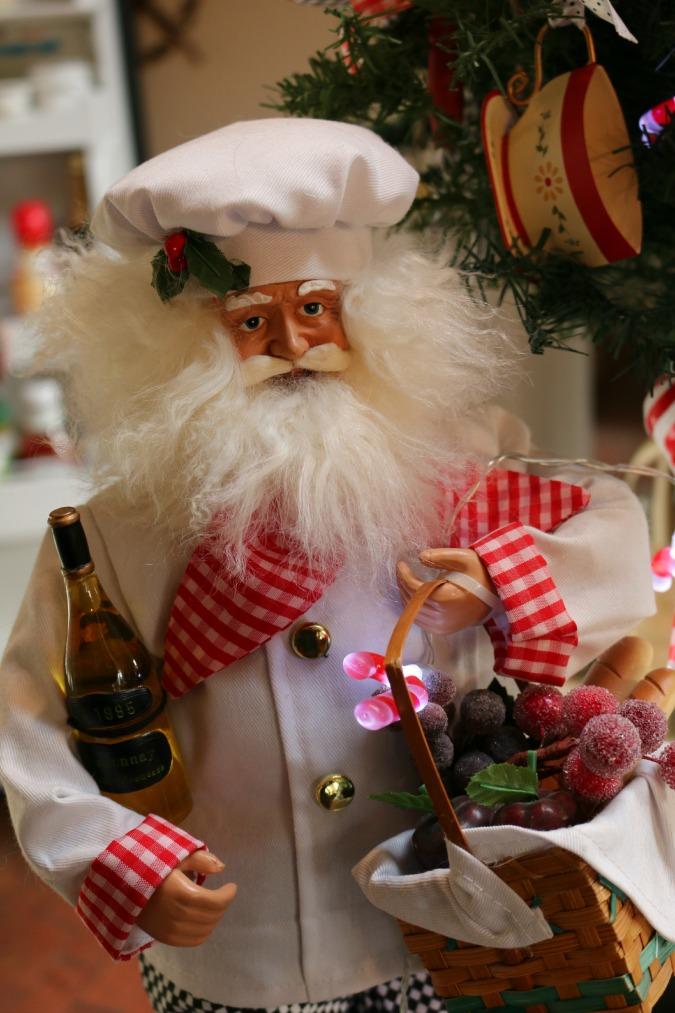 Kitchen Santa Claus