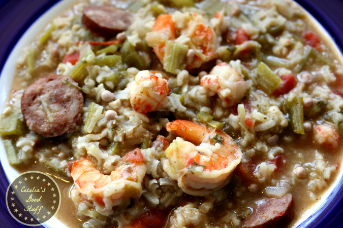 Shrimp, Lobster & Sausage Gumbo