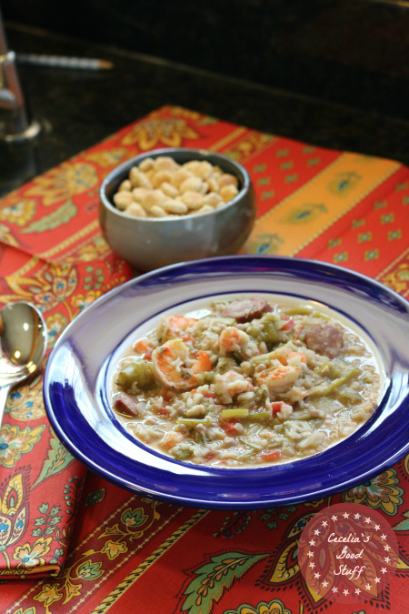 Shrimp, Lobster & Andouille Sausage Gumbo