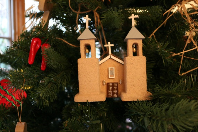 My favorite part of the Southwest Tree was the collection of New Mexico Adobe Churches.