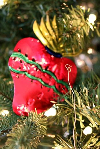 Sacred Heart Ornament