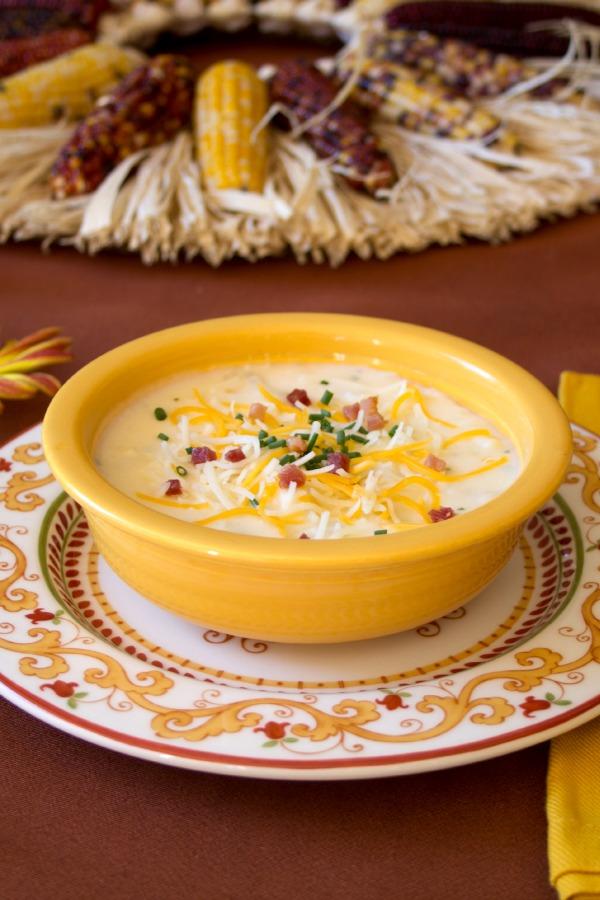Cheesy Potato Soup