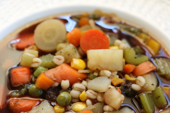 Hearty Delicious Beef Barley Soup