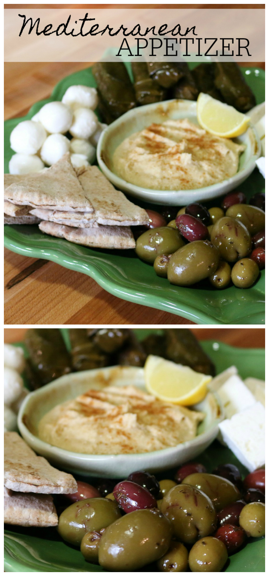A Simple Mediterranean Appetizer Recipe CeceliasGoodStuff.com | Good Food for Good People