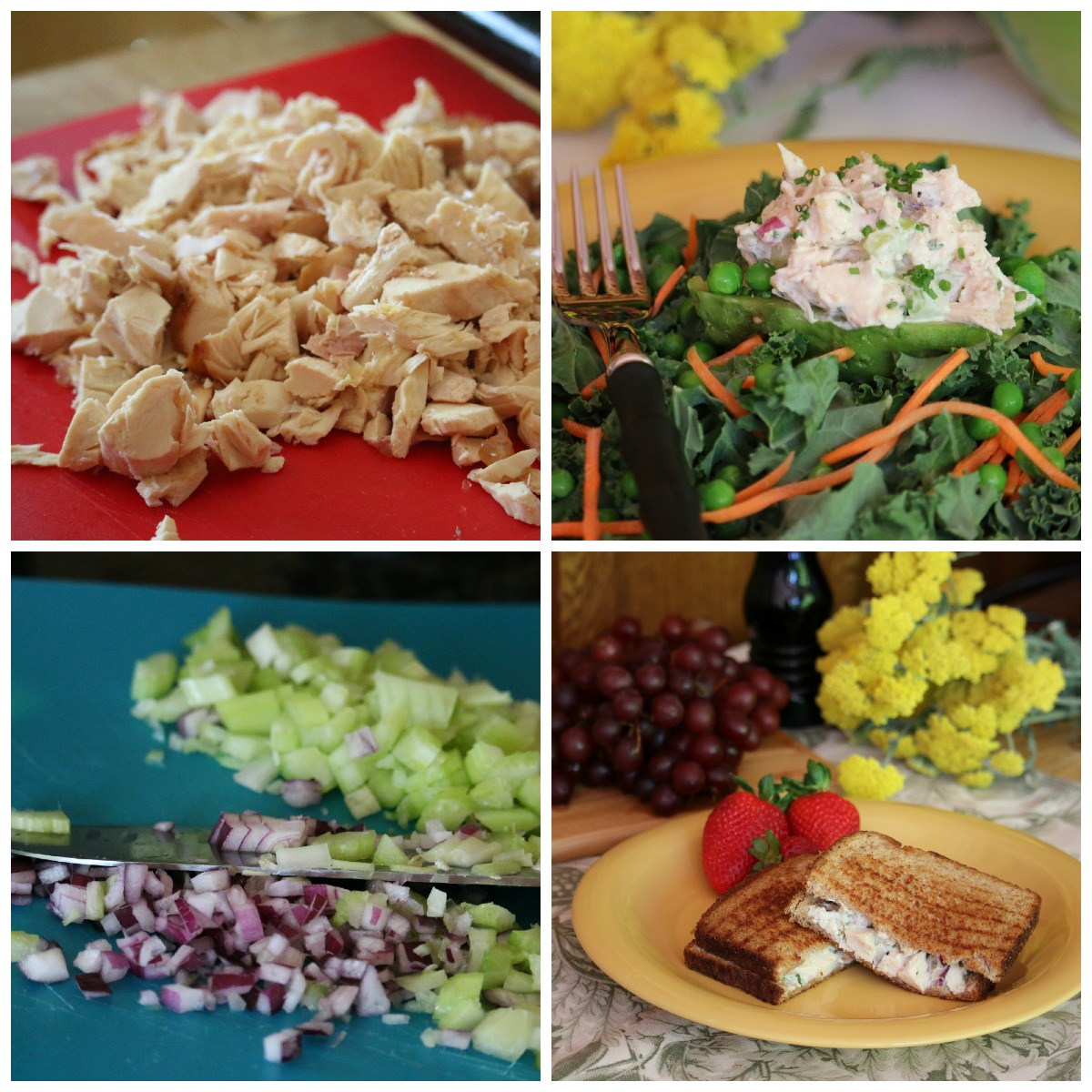 Simple & Easy Chicken Salad