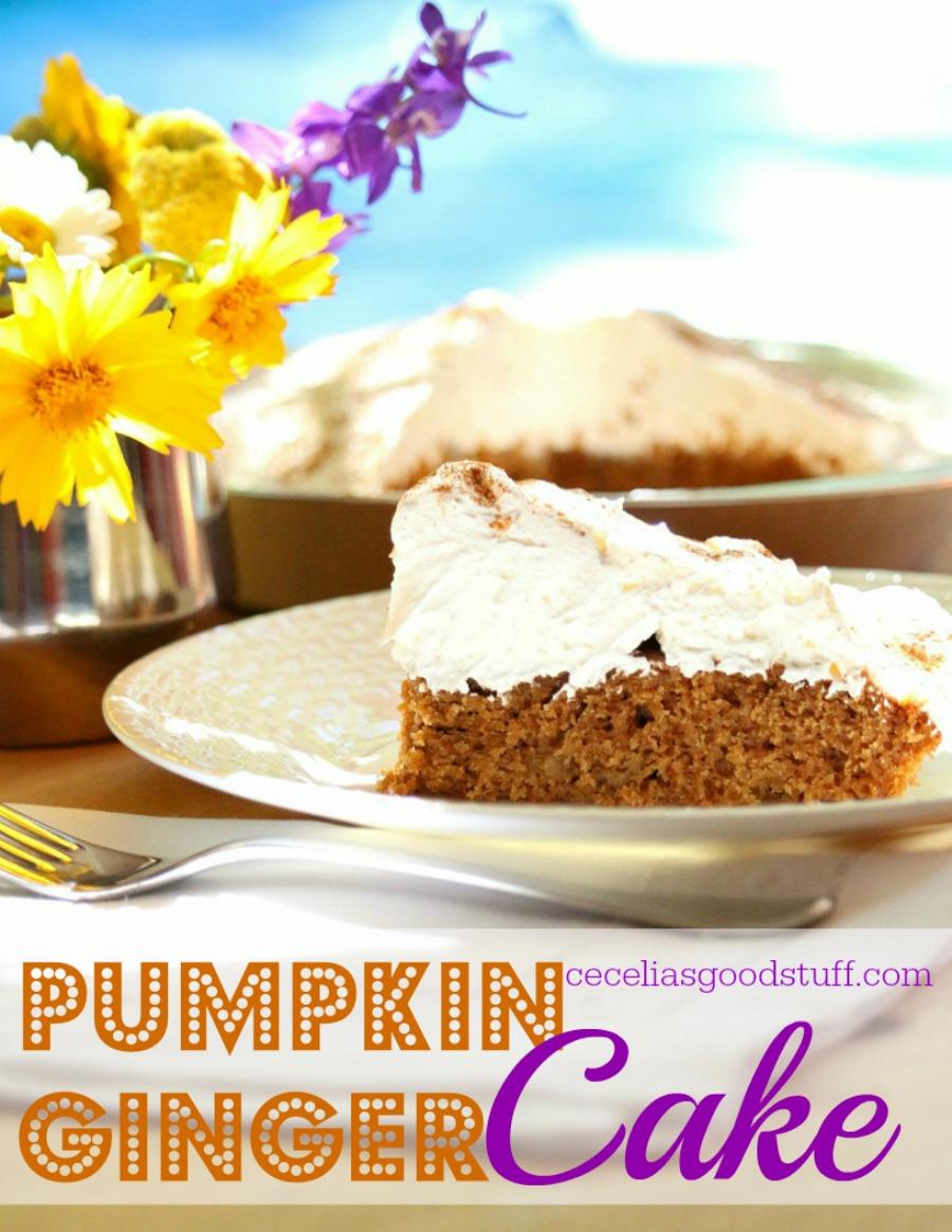 Recipe - Pumpkin Ginger Cake