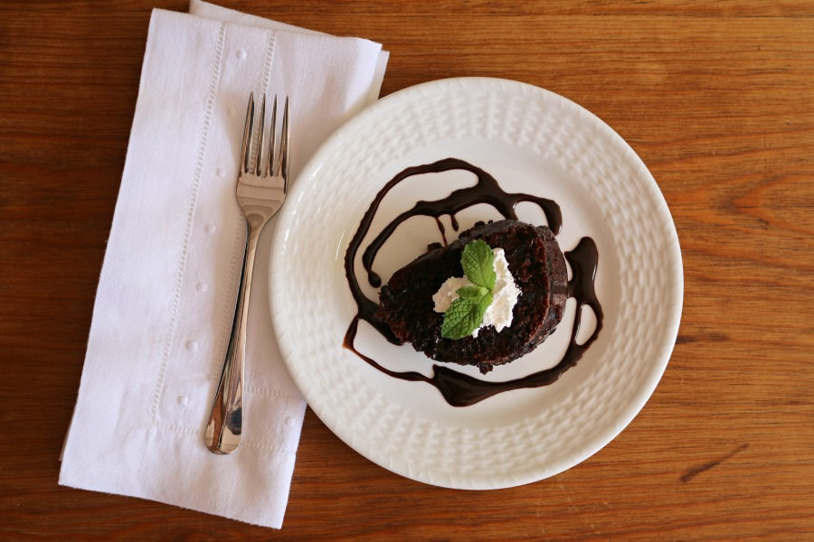 Peppermint Chocolate Bundt Cake