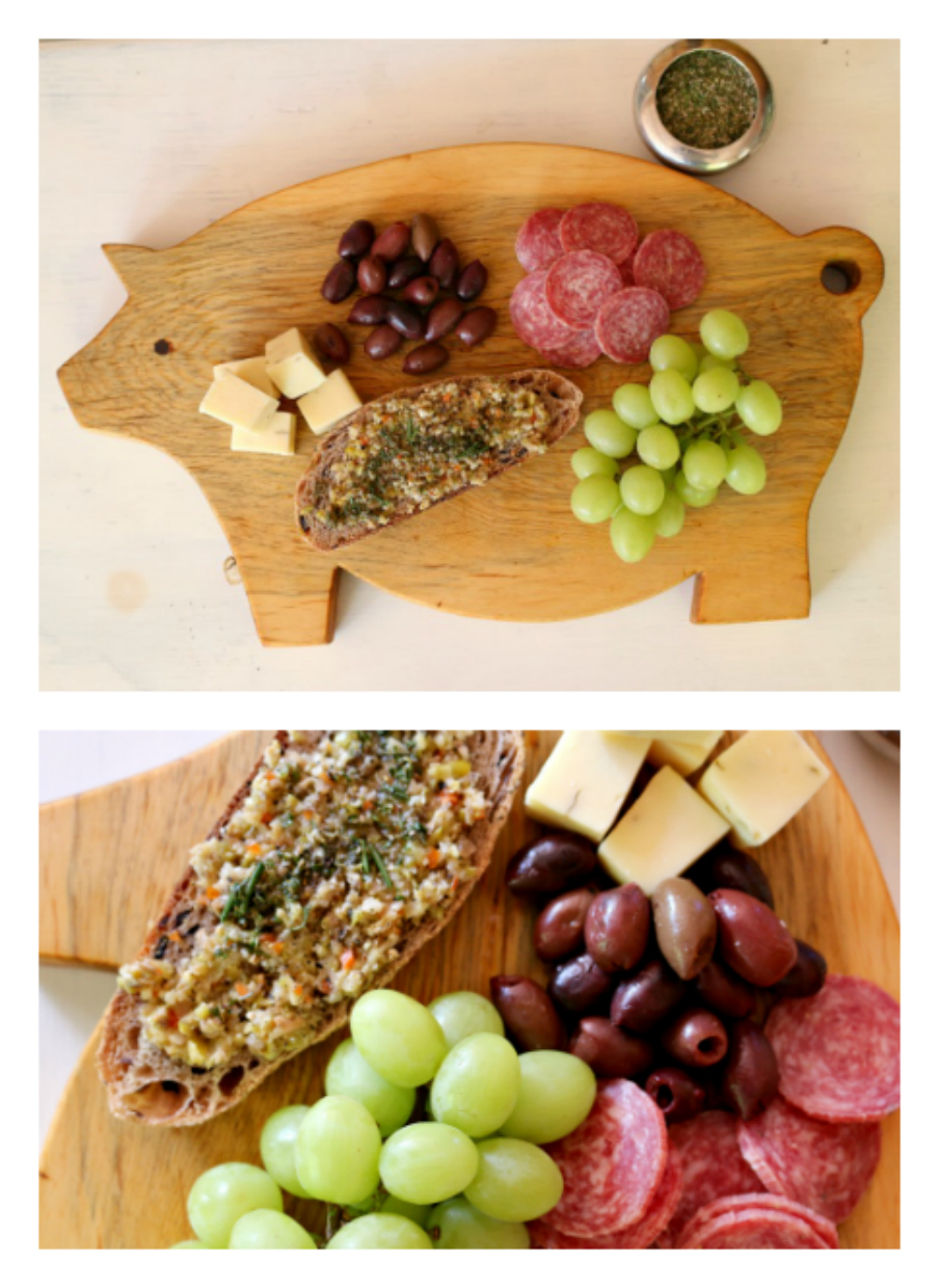Olive Tapenade the perfect Valentine appetizer. CeceliasGoodStuff.com | Good Food for Good People