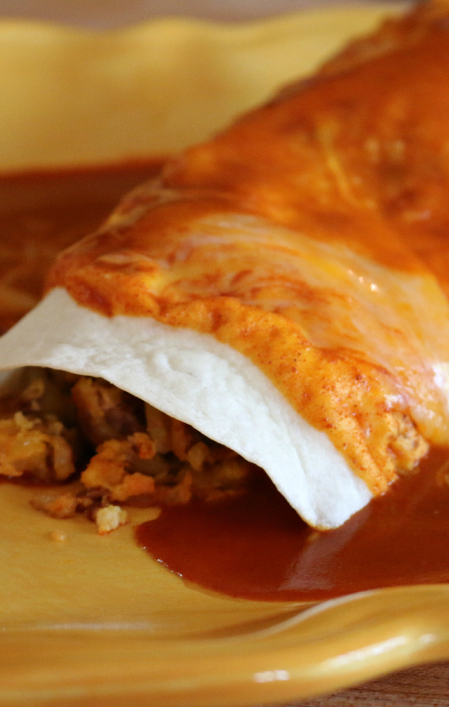 Spicy Chorizo Breakfast Burrito