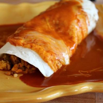 Spicy Chorizo Breakfast Burrito