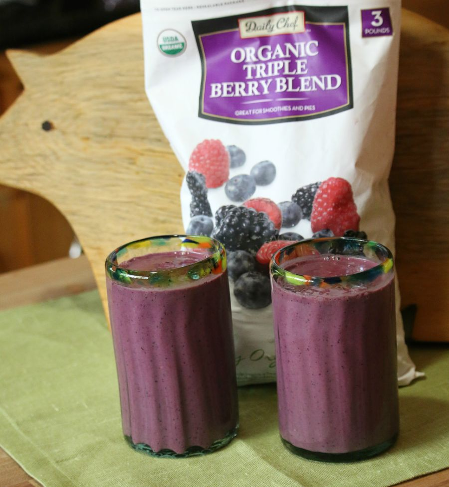 Triple Berry Power Smoothie