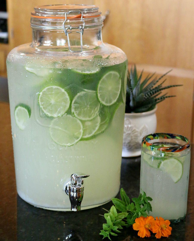 Fresh Homemade Lemon Limeade