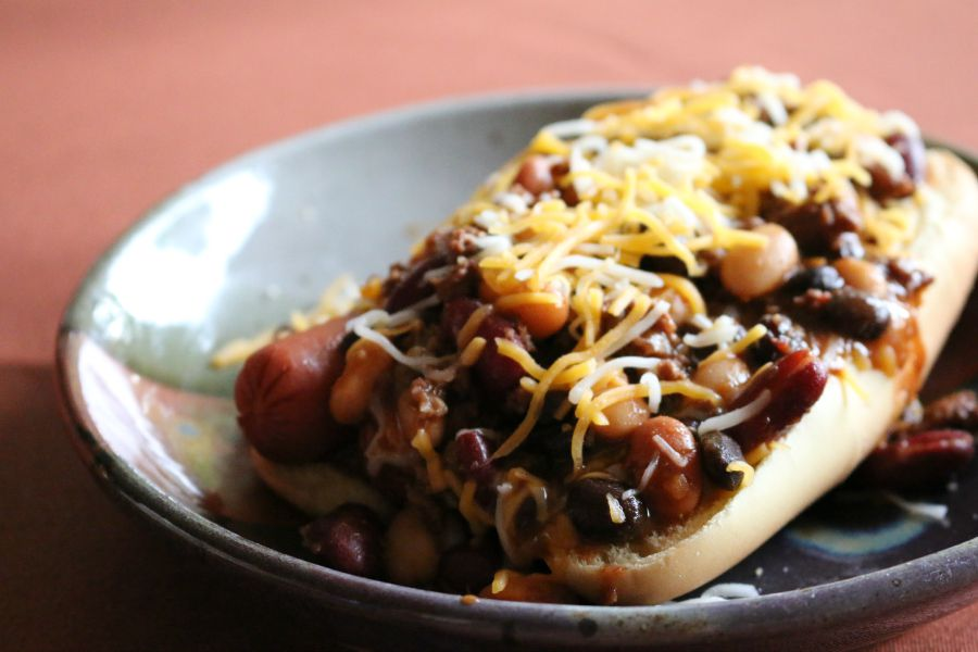 Southwestern Chili Dog