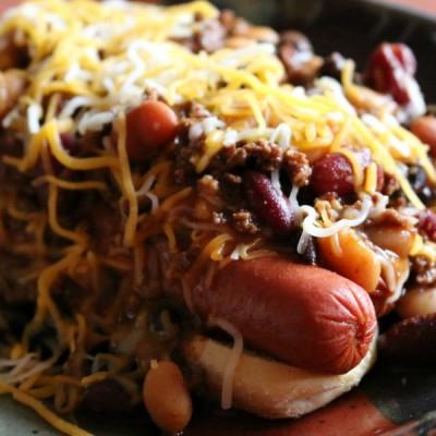 Southwestern Chili Dog