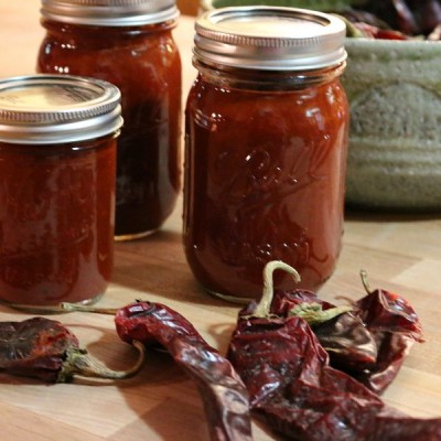 New Mexico Blender Red Chile Sauce