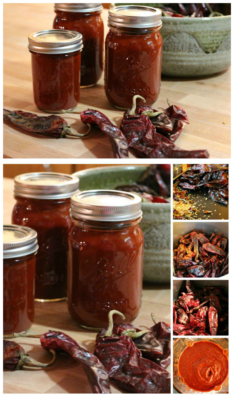 New Mexico Red Chile Chili - Blender Recipe - CeceliasGoodStuff.com | Good Food for Good People