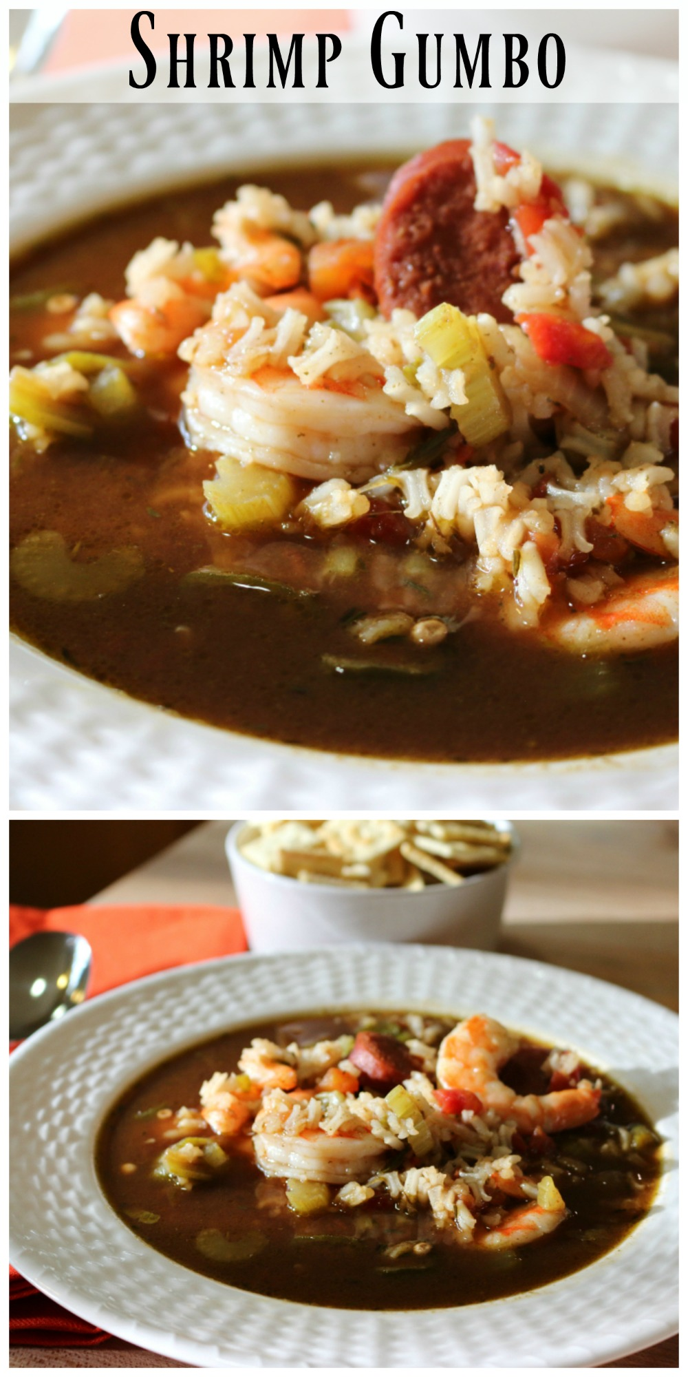 30 Minute Shrimp and Sausage Gumbo
