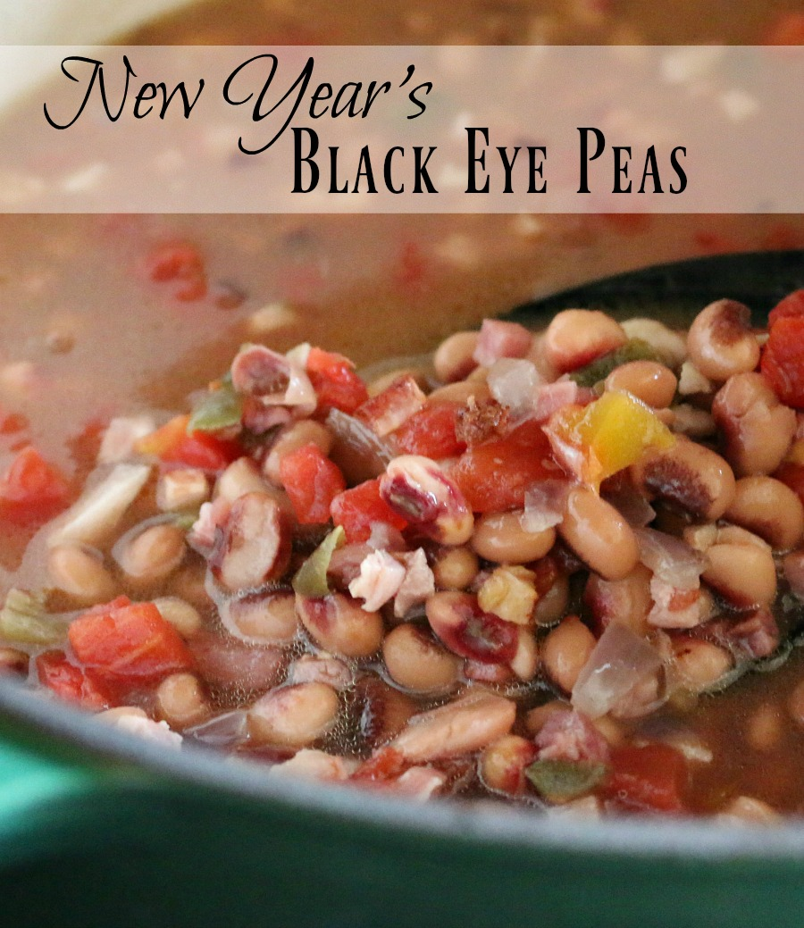 "Where did the tradition come from - eating black eye peas on New Year's day? Find it here. As well as a delicious recipe for ""New Year's Black Eye Peas"" - good stuff!"