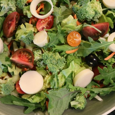 Mixed Greens & Hearts of Palm Salad