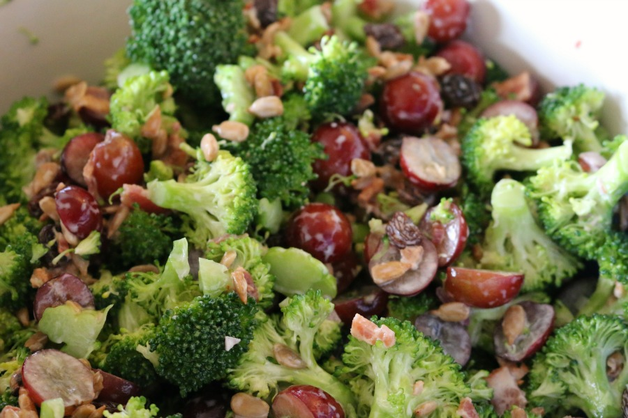 Low Fat Broccoli Salad