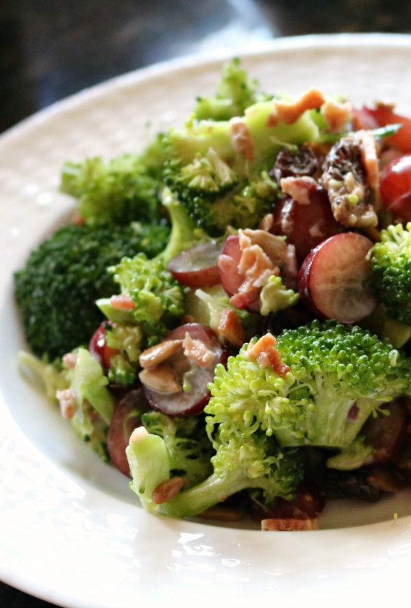 Healthy Recipe for Low Fat Broccoli Salad