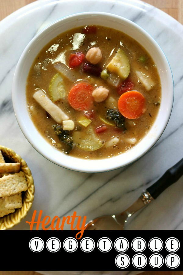 Recipe for Hearty Vegetable Soup
