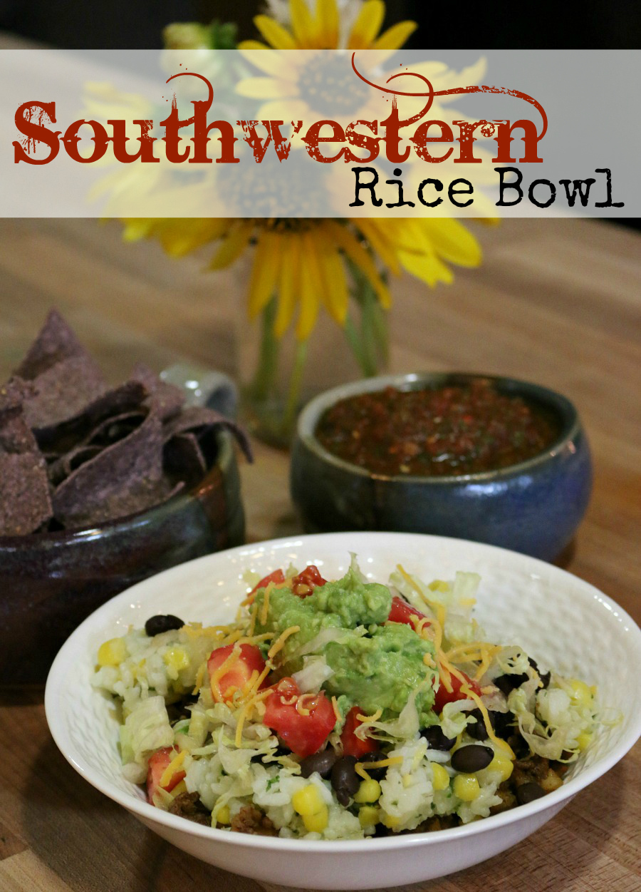 Southwestern Rice Bowl Recipe - Easy and Delicious! | www.ceceliasgoodstuff.com