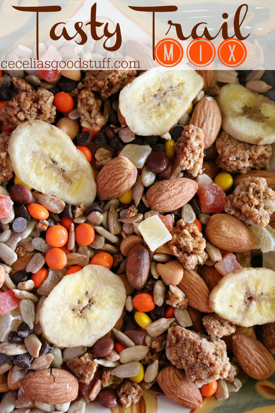 Recipe - Homemade Tasty Trail Mix