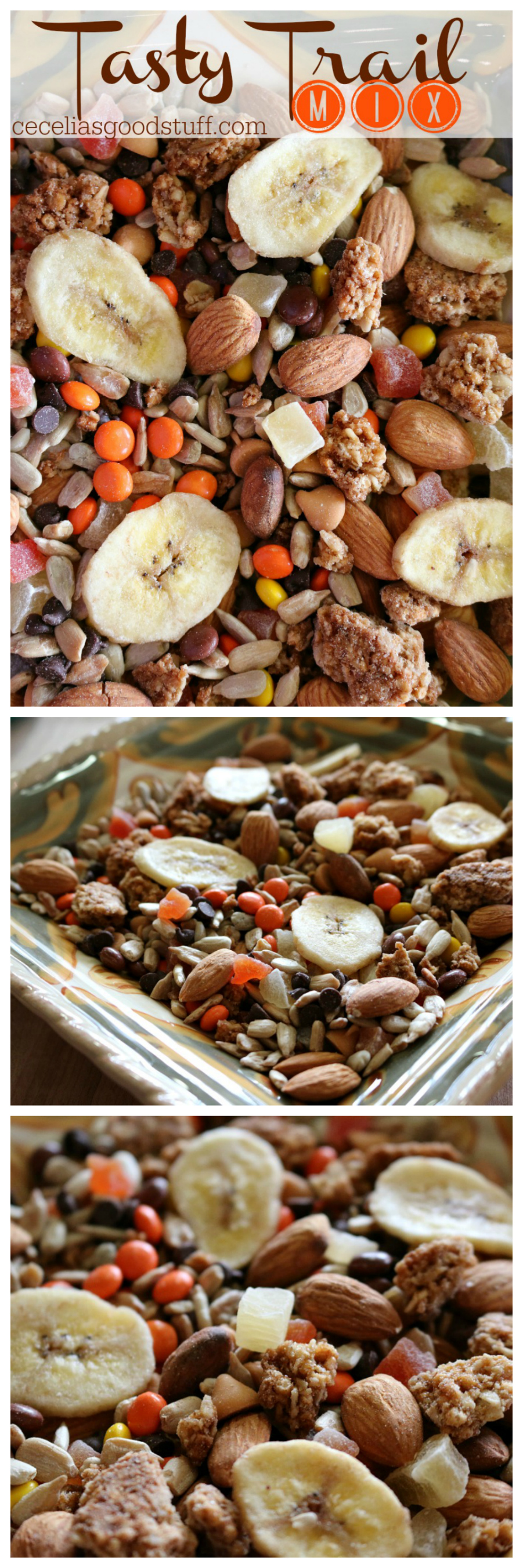 Tasty Trail Mix Healthy Kids Snacks CeceliasGoodStuff.com Good Food for Good People
