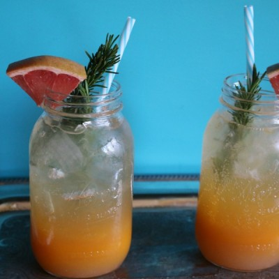 Rosemary Grapefruit Natural Soda
