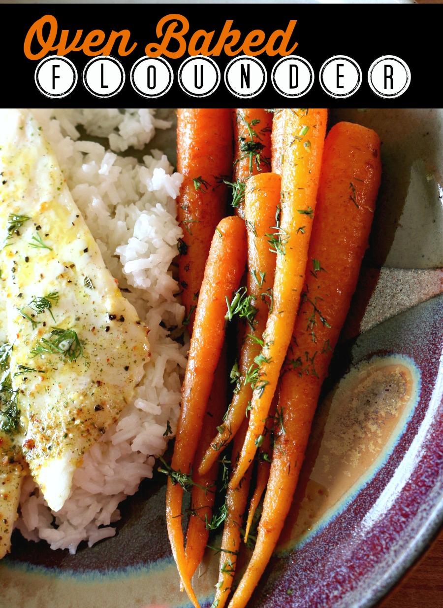 Recipe for Oven Baked Flounder