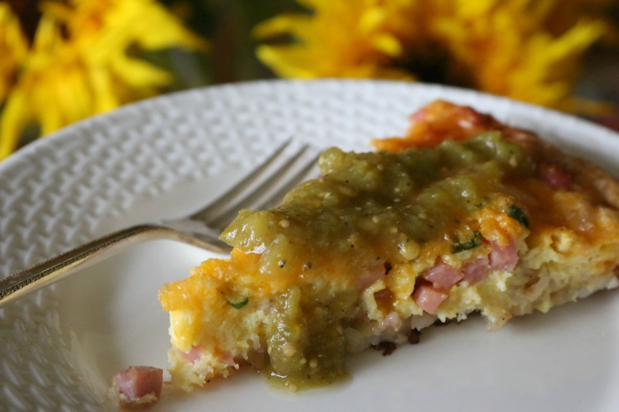 Best Ever Ham & Cheese Breakfast Casserole
