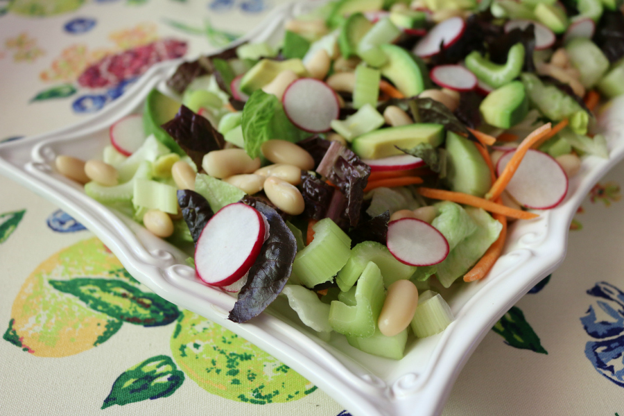 Summer Mixed Green Salad